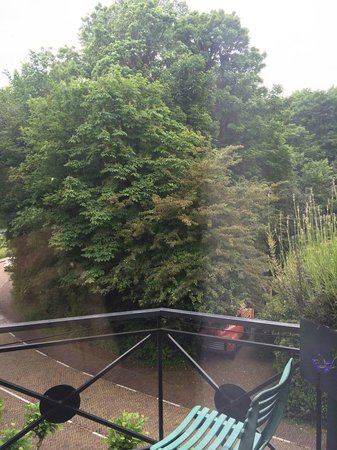 Restaurant Hotel Merlet: view from room 1
