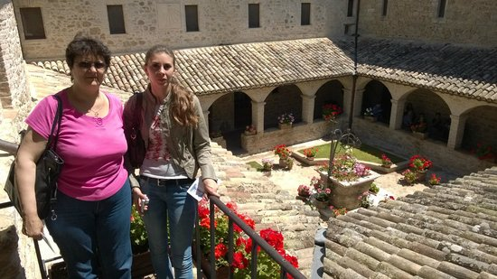 Country House Pro Vobis : Il convento si San Damiano- Assisi