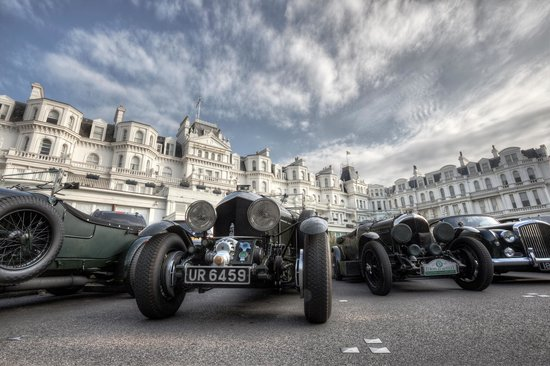 The Grand Hotel Eastbourne : Bentley resting