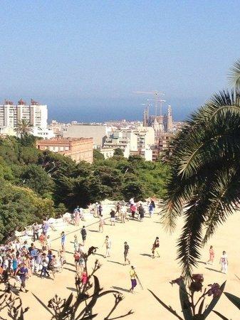 Park Güell: Вид на город