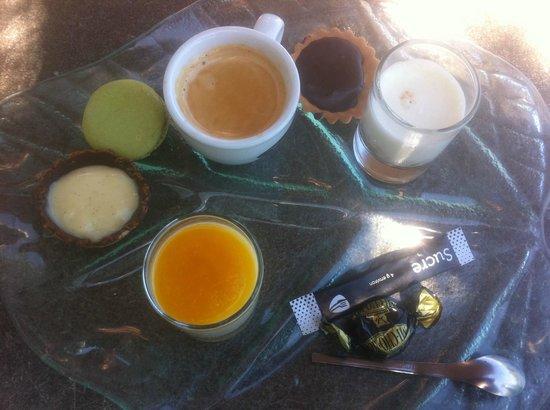 La Villa des Oliviers : Café gourmand