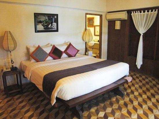 Bambu Battambang Hotel: Stanza da letto