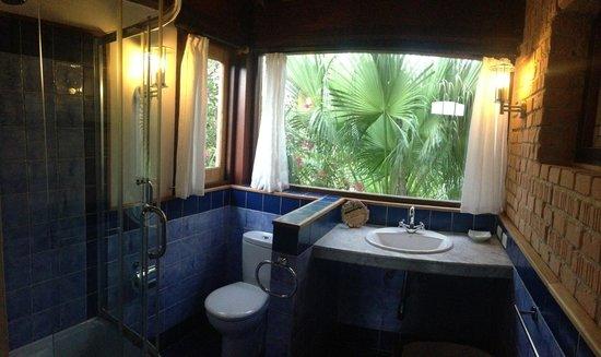 La Rosa de Ortega: Bathroom blue room