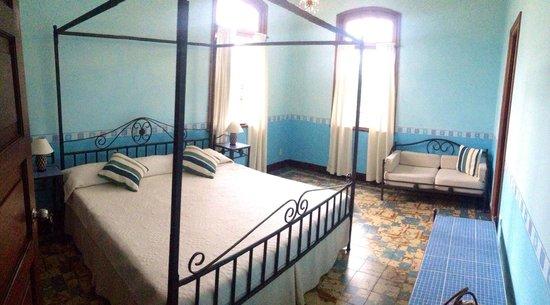 La Rosa de Ortega: Blueroom with balcony