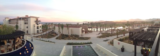 Secrets Puerto Los Cabos Golf & Spa Resort: Pano from outside restaurant