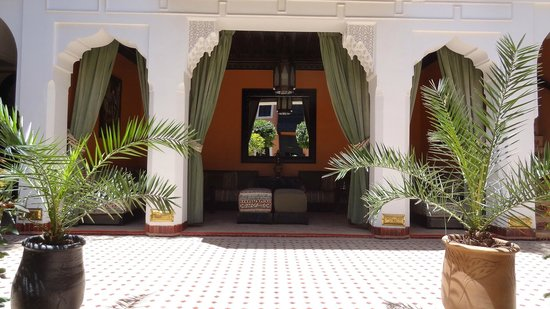 Les Borjs de la Kasbah: patio détente