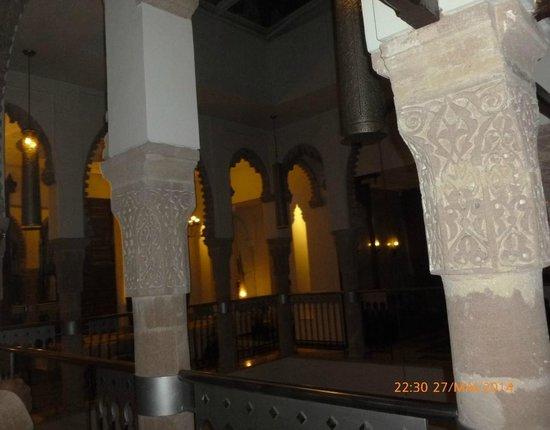 Le Ziryab : vue depuis table