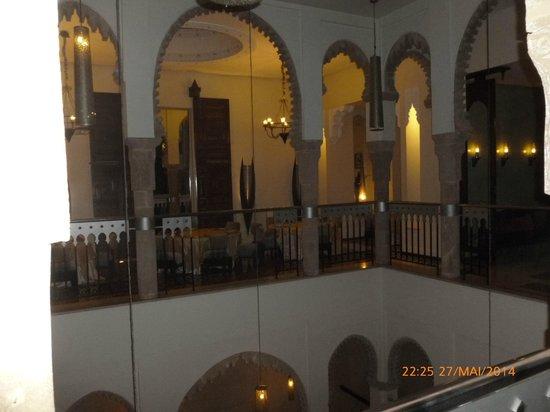 Le Ziryab : etage restaurant