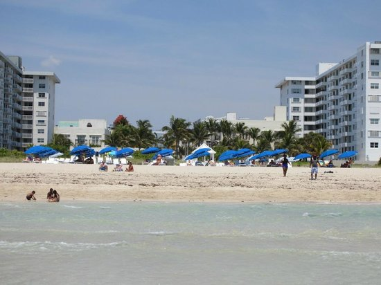 The Savoy Hotel: Beach in front of the hotel