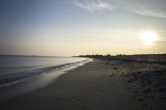 Yelloh Village La Plage: Coucher de soleil sur la plage du Steir