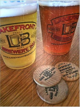 Lakefront Brewery : Sample Beer With Tokens