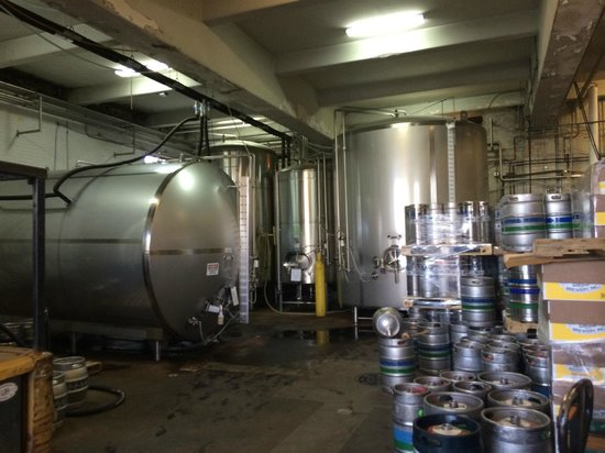 Lakefront Brewery : Inside Brewery