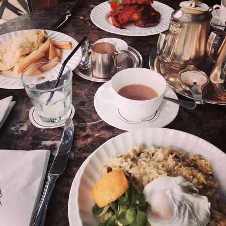 Bettys Cafe Tea Rooms - Harrogate: Breakfast