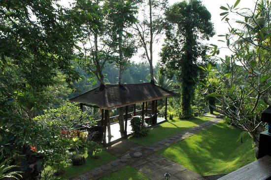 Beji Ubud Resort: Extra veranda