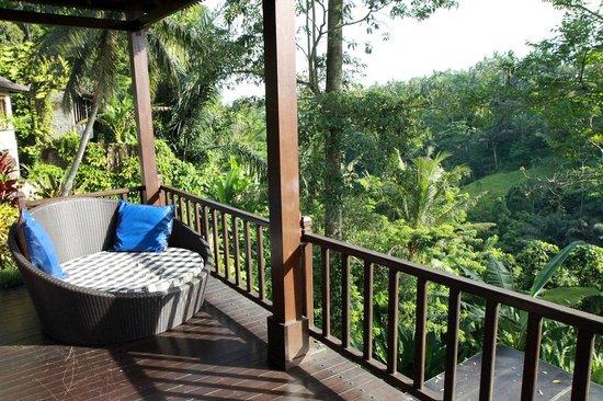 Beji Ubud Resort : Relax veranda