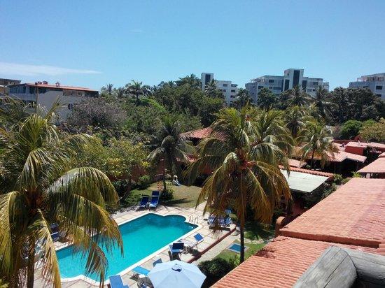 Costa Linda Beach: Desde el balcón