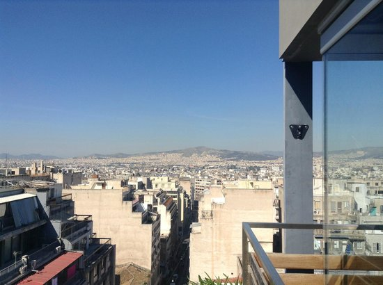 Fresh Hotel: panorama dal rooftop