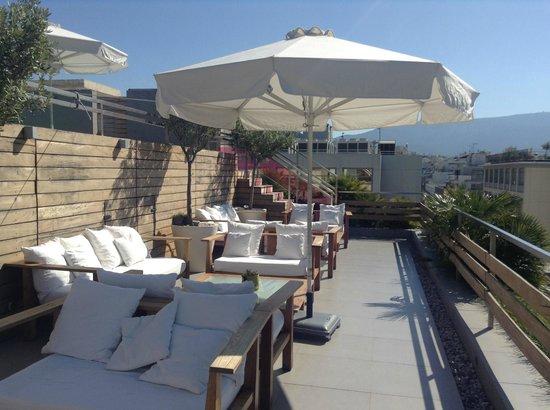 Fresh Hotel: rooftop garden