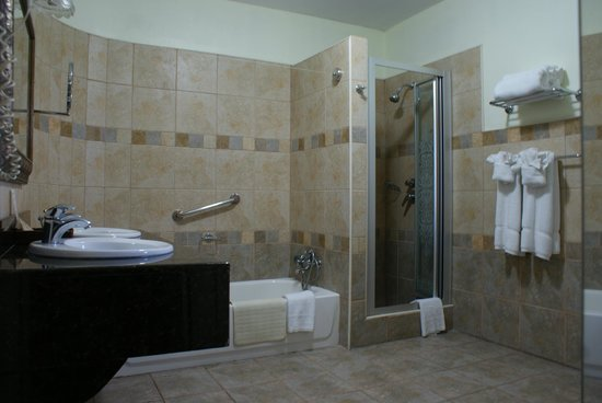 Altamont Court Hotel Kingston : Alexander Suite Bath Room