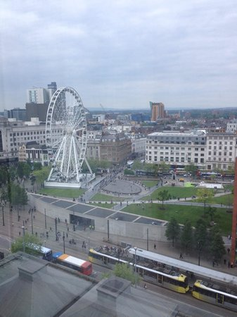 Mercure Manchester Piccadilly Hotel : From room 1022