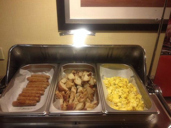 Clarion Inn Michigan City : breakfast