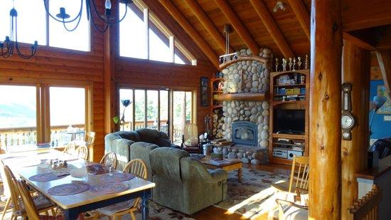 Lillaskog Lodge: Great Room