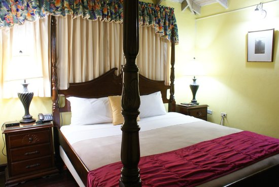Altamont Court Hotel Kingston: Suite Bed Room (Attic)
