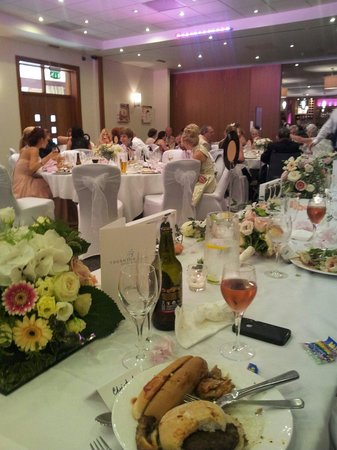 Thornton Hall Hotel & Spa: Our wedding breakfast