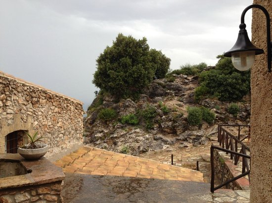 Casale Corcella : The view from the front door of room