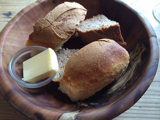 The Goods Shed Restaurant: The bread