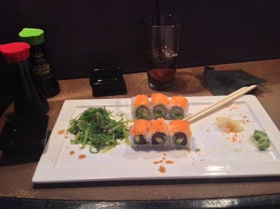Mikimotos Japanese Restaurant: half way through!!