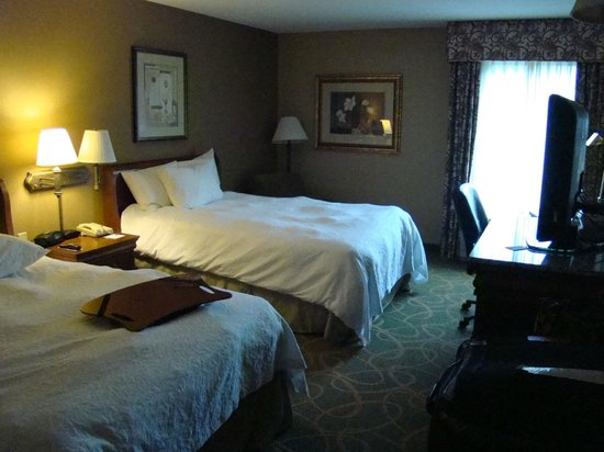Hampton Inn Hartford / Airport: Nice place, friendly staff