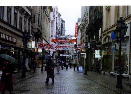 Vaci Street : 通り