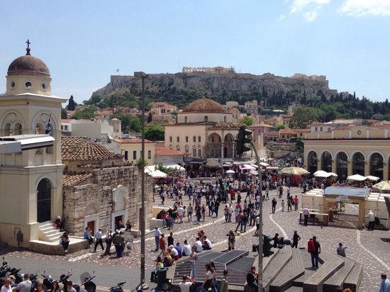 A for Athens: View from our room