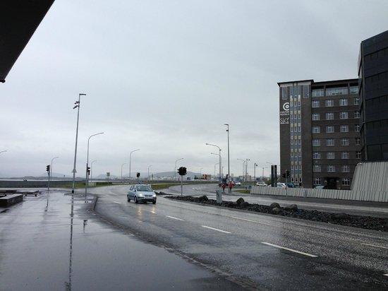 Centerhotel Arnarhvoll : Hotel situation