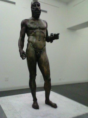 Museo Archeologico Nazionale di Reggio Calabria : statua B ( il vecchio)