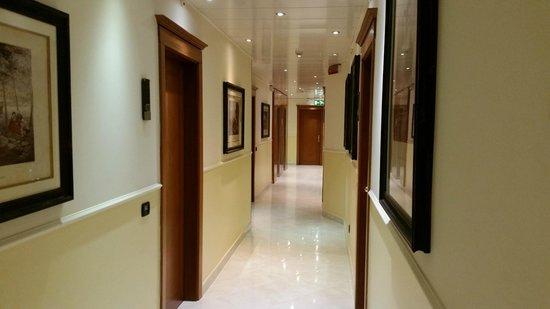 Windsor Hotel Milano: corridoio