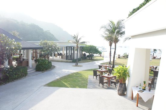 The Racha: View of the hotel reception