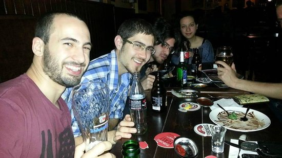 Mercury Pub: out with friends 2