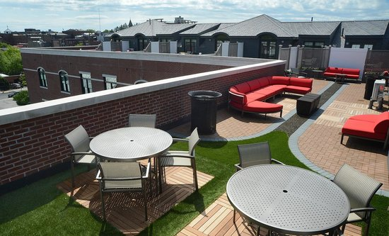 Pavilion Grand Hotel: Pavilion Room- Rooftop Terrace
