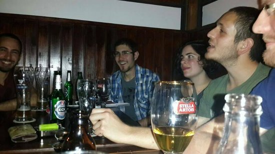 Mercury Pub: out with friends