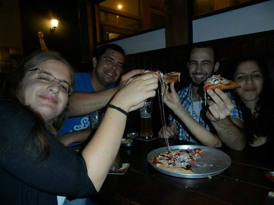Mercury Pub: pizza and beer,what more can a guy ask for?