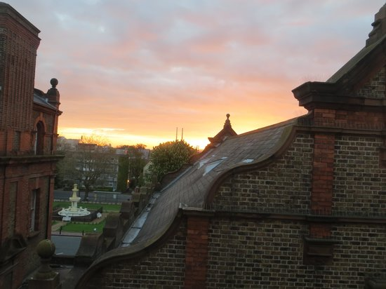 Clayton Hotel Ballsbridge: View from our hotel room