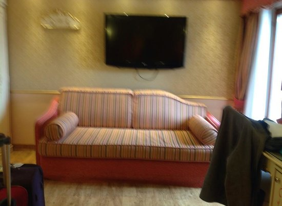 BEST WESTERN Hotel Olimpia: soffa to relax on