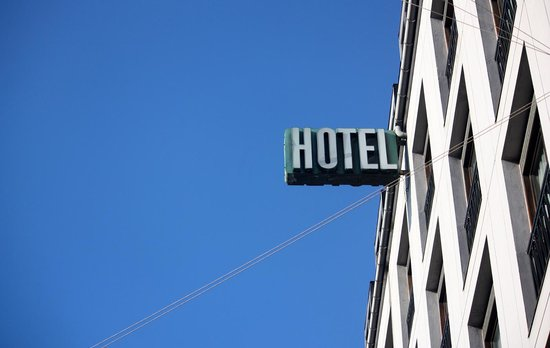 Hotel Danmark - Temporarily Closed: Hotel Sign