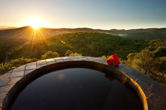 Leopard Mountain Safari Lodge: Private Plunge Pool