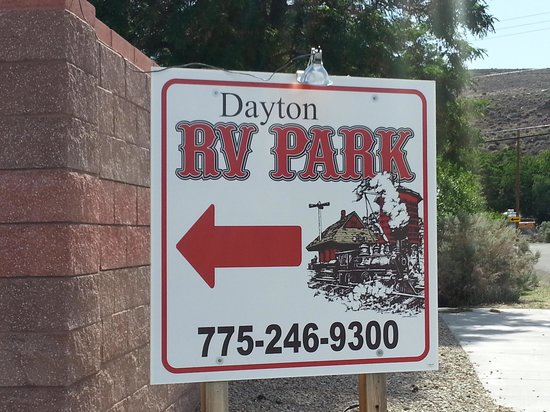 Dayton RV Park: Entrance to RV park