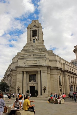 Freemasons' Hall: The United Grand Lodge (Freemasons) of England.