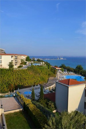 Ikos Oceania: view from side of balcony