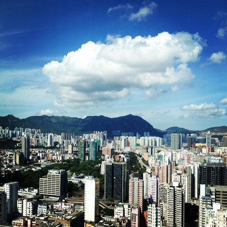 Cordis, Hong Kong at Langham Place: view from my room 29th fl